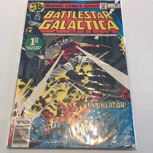 Battlestar Galactica #1 vintage marvel comic book